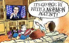 political cartoons george bush - Google Search