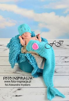 www.foto-inspiracja.pl fot.Aleksandra Krystians Marine sea baby girl