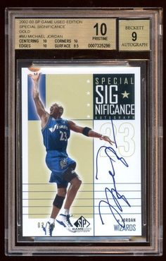 Basket ball signs for games fans michael jordan 20 ideas Basketball Cards, Basketball Players, Michael Jordan Wizards, Jordan 20, Jeffrey Jordan, Bill Russell, Upper Deck, Funny Signs, Trading Cards