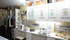 9 Ideas to Decorate your Sewing Room - Threads