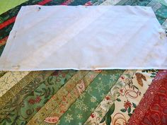 Jelly Roll and Honey Bun Strip Pillow | Sew4Home