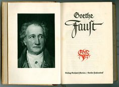 Rudolf Koch's design for Faust title page using a non-condensed form of his Blackletter. Lettering Ideas, Lettering Art, Gothic Fonts, Johann Wolfgang Von Goethe, Decorated Envelopes, Merian, Title Page, Calligraphy Letters, Scripts