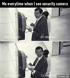 Funny Pictures, Memes & Your Daily Dose Of Laughter Mr Bean Quotes, Mr Bean Memes, Mr Bean Funny, Funny Relatable Memes, Funny Texts, Funny Jokes, Hilarious, Memes Humor, Mr Bean Drôle