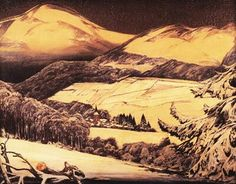 MAX CLARENBACH SAUERLAND / INVERNO NEL SAUERLAND 1923