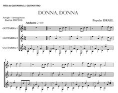 https://guitarraul.com/p/262/donna-donna-israel-3-gts  Donna, Donna (ISRAEL) by guitar trio sheetmusic