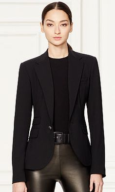 Parker Stretch Wool Jacket - Collection Apparel Jackets - RalphLauren.com  Parker Jacket, Cashmere bf69670e1e0