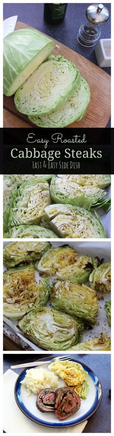 Cabbage is a beautiful winter vegetable that can be served raw as part of a slaw (see my favorite cabbage/apple slaw with simple yogurt dressing here), or cooked as a simple side dish. When I have extra room in my oven and a head of cabbage in the fridge, I like to quickly put together...
