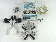 Mafac Cantilever Brake Set Complete Set with Levers Vintage | eBay