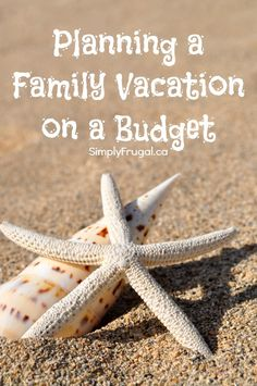 Though money is always an issue these days, that doesn't mean you can't plan a fun family vacation on a budget! #mywifibaby