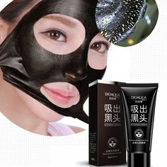 Beauty & Health Smart New Blackhead Masks Remove Dead Sea Mud Mask Facial Masks Deep Cleansing Purifying Peel Off Black Nud Facail Face Black Mask Matching In Colour Skin Care