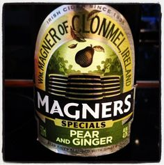 Magners Specials Pear and Ginger Cider