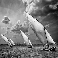 Incredible black and white...the sea romanticized.