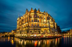 Hotel De L'Europe | Amsterdam | The Netherlands | Photo By DJ Neri