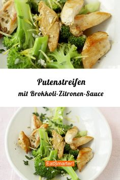 Intervallfasten-Rezept: Putenstreifen mit Brokkoli-Zitronen-Sauce, schmeckt fris… Interval fasting recipe: turkey strips with broccoli and lemon sauce, tastes fresh and delicious and has low calories! Clean Eating Soup, Clean Eating Recipes For Dinner, Clean Eating Snacks, Paleo Vegetables, Vegetable Soup Healthy, Paleo Food List, Paleo Recipes, Fresco, Eating After Workout