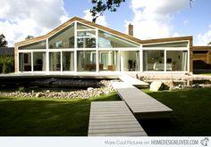 Villa Burgh-Haamstede: The Transparent Villa in Netherlands