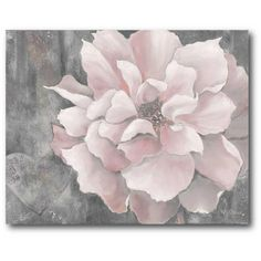 16 in. x 20 in. Pink and Gray Magnolia Canvas Wall Art - The Home Depot 16 in. x 20 in. Pink and Gray Magnolia Canvas Wall Art - The Home Depot Pink And Grey Room, Grey Bedroom With Pop Of Color, Blush And Grey, Pink Room, Pink Grey, Pink Bedroom Decor, Grey Wall Decor, Pink Bedrooms, Blush Pink And Grey Bedroom