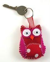 owl key chain!! I really really really want this!