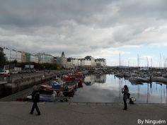 Darsena. A Coruña. Galicia. Spain.