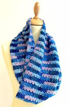 Emma Varnam Sirdar Smiley Stripes Dk FREE cowl pattern