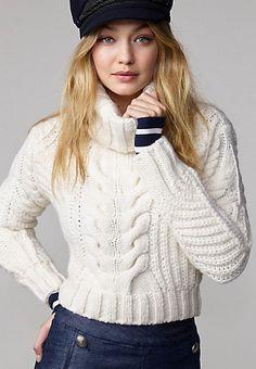 Roll Neck Sweater Gigi Hadid