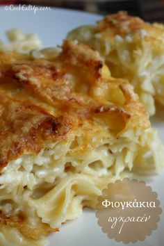 Spaghetti Recipes, Pasta Recipes, Cookbook Recipes, Cooking Recipes, Baked Pasta Dishes, Good Food, Yummy Food, Yummy Yummy, Savoury Dishes