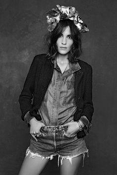 alexa Chanel Little Black Jacket Exhibition Preview (Vogue.com UK)