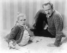 Tod Browning and one of his courageous stars.