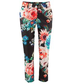 i found you, you beautiful beautiful floral pants.  H for only $15!
