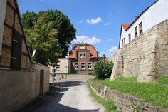 Altstadtrundgang - an der #Stadtmauer  #freyburg