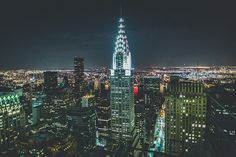 danielodowd:  Chrysler Building by Denn-Ice on Flickr.