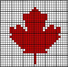Coffee Crochet: Crochet Chart ~ Maple Leaf