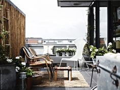 A faded palette: Outdoor space by IKEA Ikea Outdoor, Outdoor Life, Outdoor Spaces, Outdoor Gardens, Outdoor Living, Outdoor Decor, Indoor Outdoor, Ikea Exterior, Porches