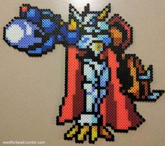 Digimon: Omnimon Digimon is owned by Saban Toei Animation and Bandai. Find more Digimon perler bead designs on my Tumblr!