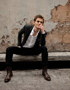 A bit broody for my usual taste, but Paul Wesley is yum.