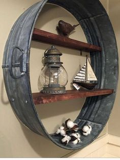 Repurposed Furniture, Rustic Furniture, Diy Furniture, Western Style, Country Decor, Rustic Decor, Galvanized Decor, Diy Home Decor, Room Decor