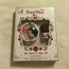 ELF Disney Snow White Face Collection Elf Snow White blush and bronzer duo with matching brush ELF Makeup