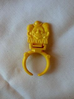Vintage CRACKER JACK Clown Ring Put Together Toy Prize