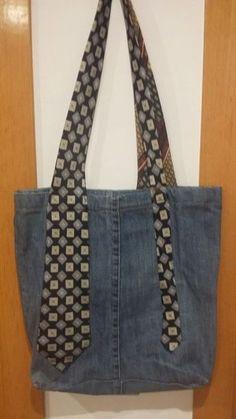 Bolso texà - and 🛍️ Bags and Purses 🛍️ und tasche Bolso texà - Sacs Tote Bags, Denim Tote Bags, Denim Purse, Tie Crafts, Denim Crafts, Pure Cosmetics, Upcycling Fashion, Diy Sac, Diy Bags Purses