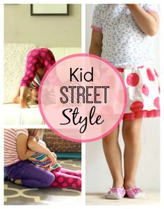 Kid Street Style: Two stylish sisters Nolie & Ever #childstyle