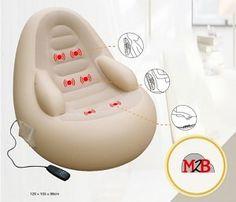 M2B207 fauteuil de massage gonflable point de massage