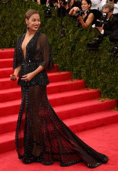 Beyonce looked stunning in Givenchy at the Met Ball.