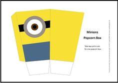 popcorn printable - Google Search Minion Birthday, Minion Party, James 1st, Popcorn, Minions, Birthdays, Printables, Chart, Google Search