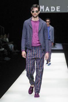 Giorgio Armani | Menswear - Spring 2018 | Look 45