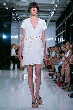 the obi belt is everywhere | Ralph Rucci Spring 2015 RTW