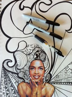 Art: collage et coloriage