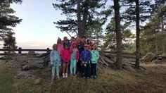 Stephanie Jaramillo went hiking with 11 3rd and 4th grade Girl Scouts on a weekend campout! Now that's a great way to #BeActive!