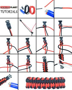"#ParacordChallenge---Level of Difficulty: Medium Our BRAND NEW pictorial is for the ""Dragon Tongue"" bracelet. Follow these step-by-step instructions and give this fun, and awesome-looking, design a try yourself! #paracord #dragonstongue #design #diy #howto #tutorial #pictorial #paracordial #craft #crafting #knotting #tying"