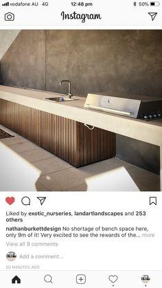 Basic Kitchen Area Concepts For Inside or Outside Kitchen areas – Outdoor Kitchen Designs Outdoor Kitchen Patio, Outdoor Kitchen Design, Outdoor Living, Outdoor Kitchens, Luxury Kitchens, Kitchen Dining, Kitchen Decor, Basic Kitchen, Bbq Area