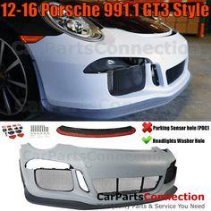 Front Bumper Kit 991 911 2012-2016 Porsche Carrera CarreraS S R GT3 Style No PDC