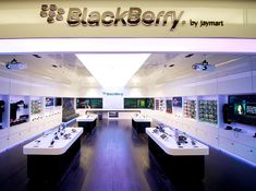 Retail Design | Shop Design | Electrical Store Interior | BlackBerry Retail Design by e2.